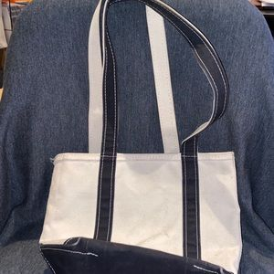 LL Bean Bote and Tote